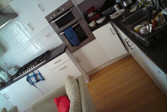 Swansea Student House Kitchen